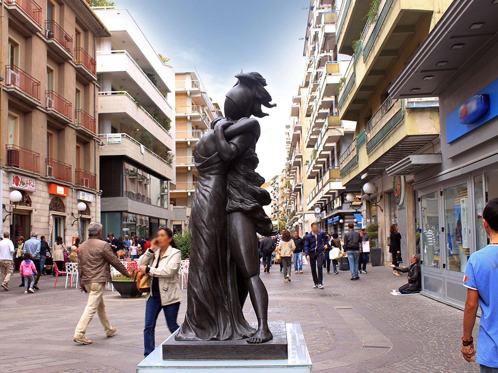Open-air Museum Cosenza + Corso Mazzini