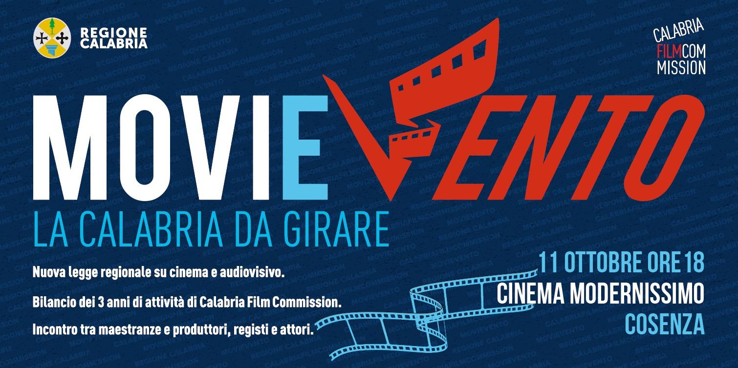 MoviEvento-La Calabria da girare, l'11 ottobre a Cosenza