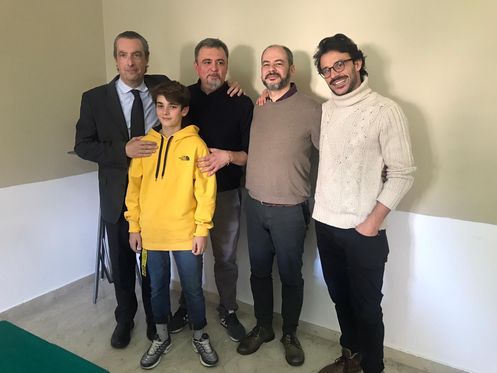 """Glass Boy fine riprese per il film di Rossi. Nespeca: """"La Calabria è un grande teatro di posa"""""""