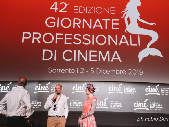 Calabria Film Commission alle Giornate professionali del Cinema a Sorrento