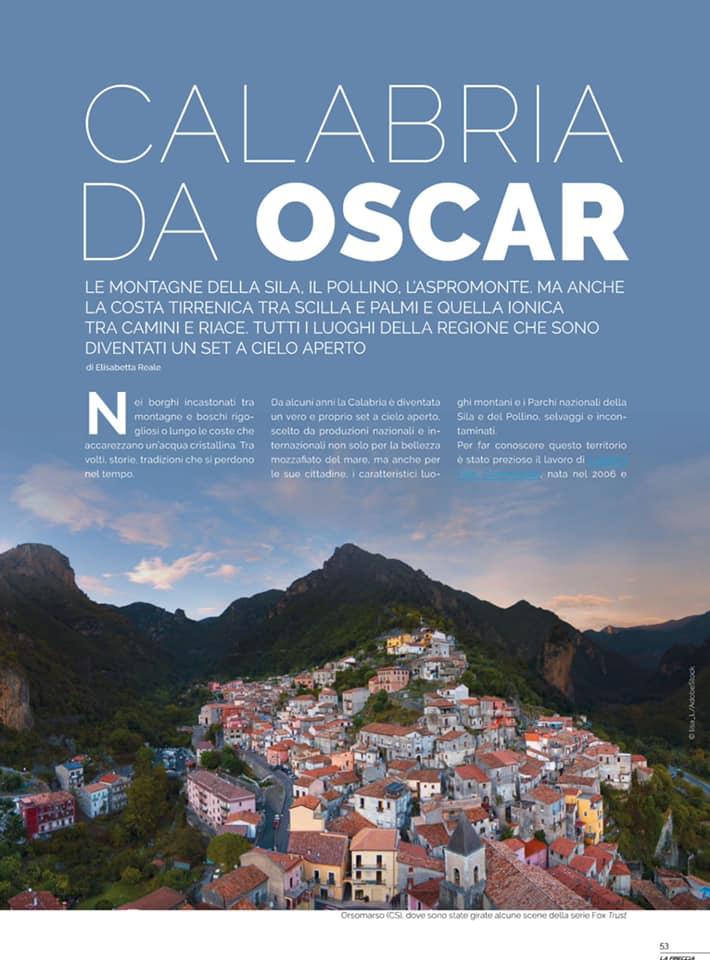 Calabria da Oscar! Sulla rivista Freccia di Trenitalia